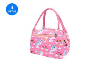 Lunch Bags Insulated Women Portable Food Storage Bag Handheld Lunch Container(2Packs)