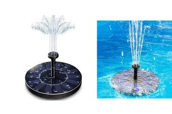 Floating Solar Fountain Pump Water Panel Power Kit