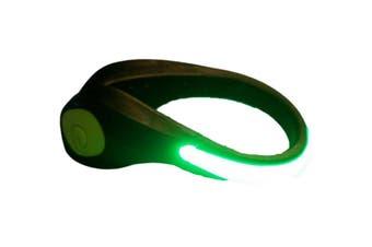 Clip-on Shoe Safety Light Night Light LED Lights(Green)