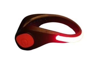 Clip-on Shoe Safety Light Night Light LED Lights(Red)