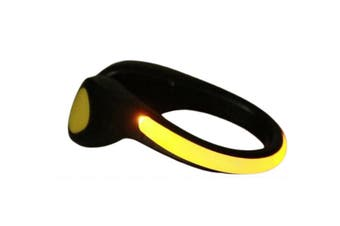 Clip-on Shoe Safety Light Night Light LED Lights(Yellow,2Pcs)