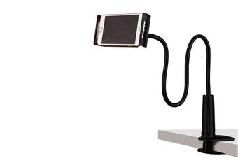 Flexible Lazy Arm Phone Tablet Holder Phone Clip Black