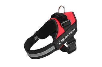 Adjustable Dog Harness Pet Dog Vest Harness,Red