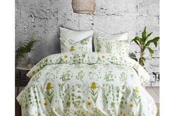 Single 3 Pcs Bedding Set Luxury Soft Quilt Cover Pillowcase Style2
