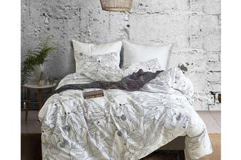 Queen 3 Pcs Bedding Set Luxury Soft Quilt Cover Pillowcase Style4