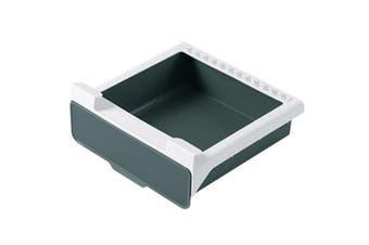 Kitchen Drawer Organiser Slide Drawer Storage Rack(Army Green,1Pack)