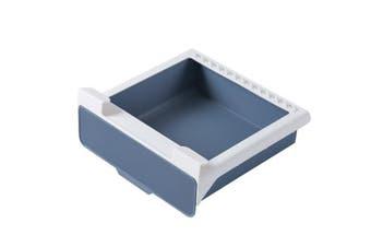 Kitchen Drawer Organiser Slide Drawer Storage Rack(Blue,1Pack)