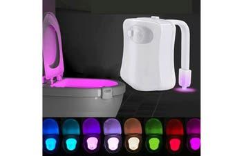 Toilet Bowl Sensor Light LED Night Light Bathroom Motion Sensor Lamp