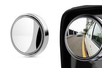 Blind Spot Car Mirror 360°Adjustable Car Mini Mirror(1Pack)