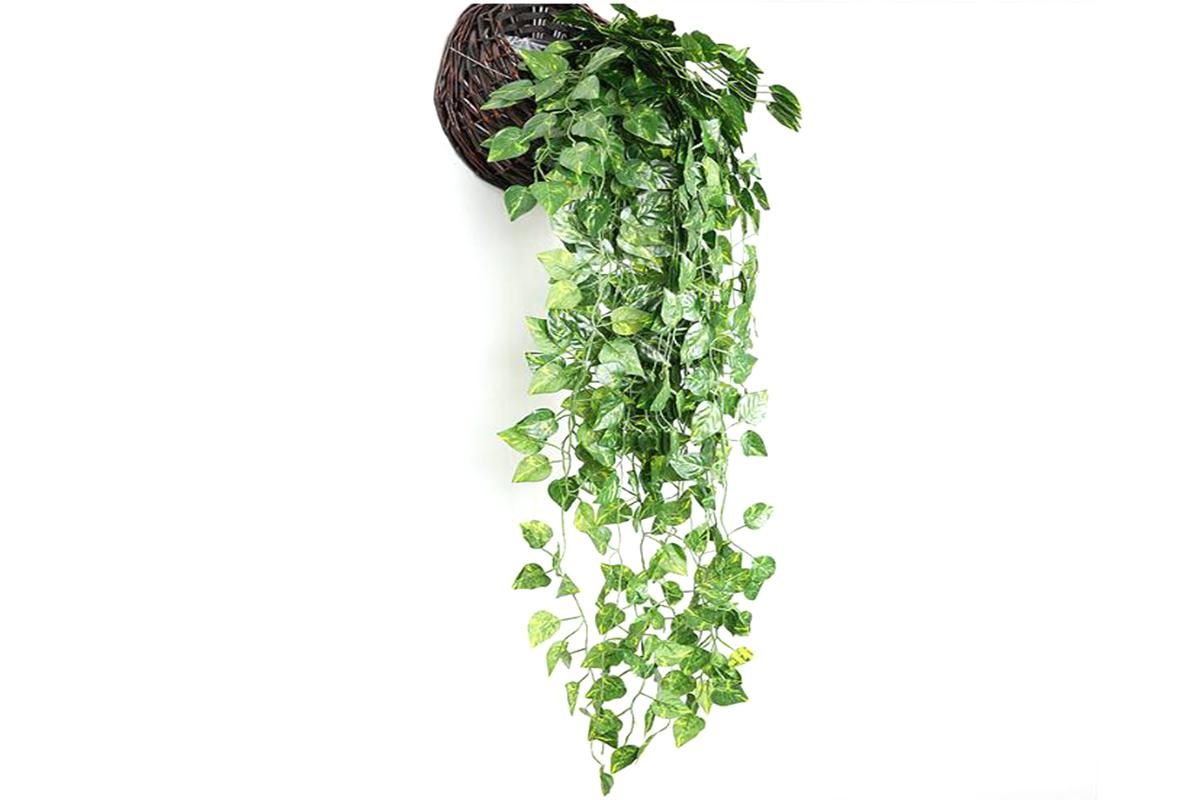 Artificial Plants Ivy Vine Hanging Leaf Garland Plants Home Decoration 2packs Matt Blatt