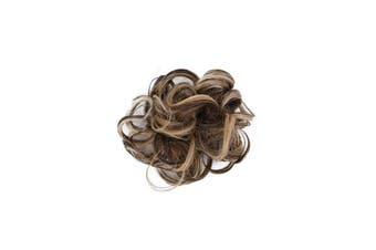 Hair Messy Bun Fake Extensions Styling Hair Cover(Light Brown)
