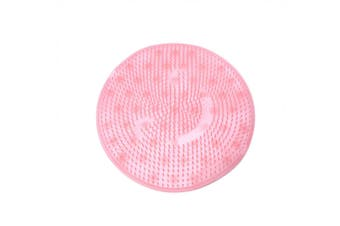 Shower Feet Cleaner Scrubber Mat Bath Foot Massager(Pink)