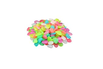 Glow in The Dark Pebbles Garden Stones For Outdoor Fish Tank Decoration(400Pcs)