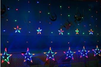 Star String Light Romantic LED Curtain Lights Home Decor Fairy Light(Multi Color)