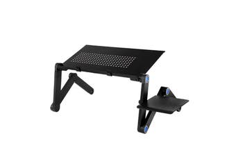 Foldable Adjustable Laptop Stand Laptop Desk Black