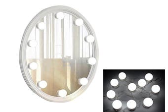 Vanity Lights Makeup Mirror Lights 10Bulbs String Light