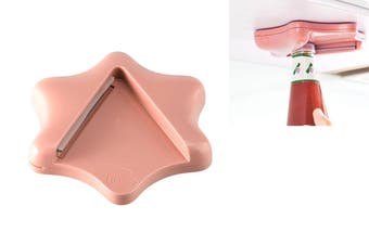 Can Opener Multifunctional Effortless Jar Opener Bottle Opener(Pink)
