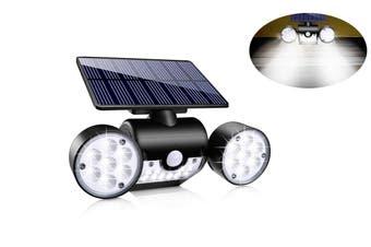 30LED Dual Head Motion Sensor Solar Powered Lights Wall Lights(1 Pack)