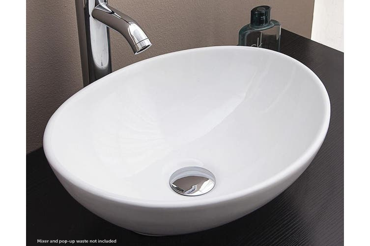 Bathroom Vanity Oval Ceramic Basin