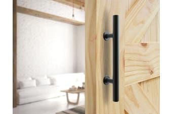 """Carbon Steel Door Handle & Flush Pull Wood Door Gate Hardware 12"""""""