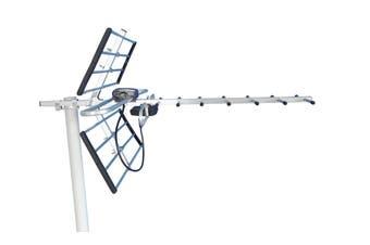 Digital TV Outdoor Antenna Aerial UHF VHF FM AUSTRALIAN Signal Amplifier Booster