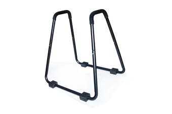 Heavy Duty Body Press Core Bars Push Up Home Gym Parallette Stand
