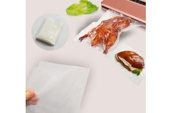 100x Vacuum Sealer Bags Food Storage Saver Heat Seal Cryovac 20cm x 30cm