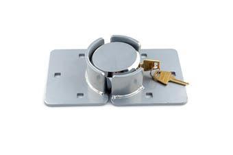 Van Door Lock With Brackets - Heavy Duty Security Vehicle Hasp Padlock
