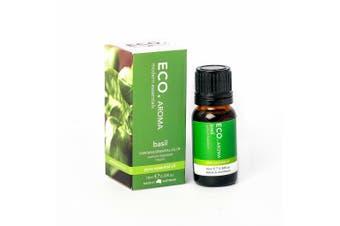 ECO. Basil Pure Essential Oil 10ml