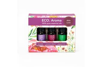 ECO. With Love Essential Oil Aroma Trio