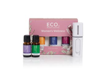 ECO. Women's Wellness Essential Oil and Petite Diffuser Kit