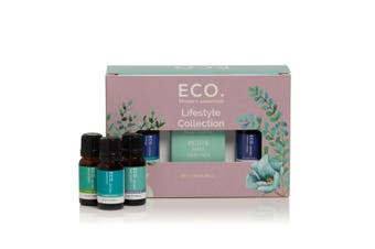 ECO. Lifestyle Essential Oils and Handheld Diffuser Collection