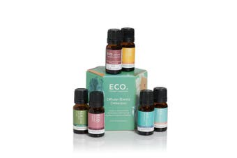ECO. Diffuser Essential Oil Blends 6 Pack