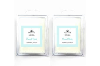 Soy Wax Melts - Coconut Beach Scent x 2