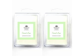 Soy Wax Melts - Coconut Lime Scent x 2