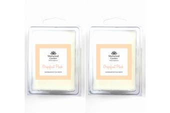 Soy Wax Melts - Grapefruit Peach Scent x 2