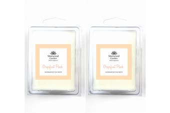 Soy Wax Melts - Grapefruit Peach Scent x 2