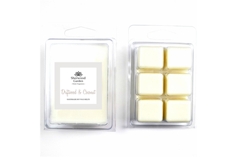 Soy Wax Melts - Driftwood & Coconut