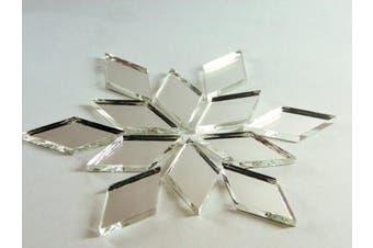 2.5cm x 1.3cm diamond shape mirror mosaic tile. 150 pcs