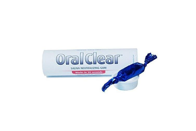 Oral Clear Gum - The Saliva Solution