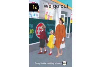 We Go Out: Dung Beetle Book 1c