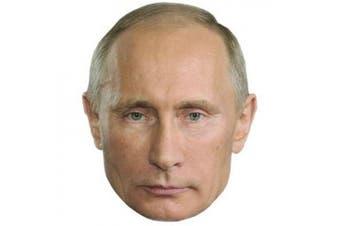 Vladimir Putin Mask, Cardboard Face and Fancy Dress Mask