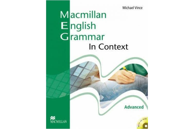 Macmillan English Grammar In Context Advanced Student's Book without Answer Key with CD-ROM