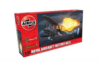 Airfix 1/72 Royal Aircraft Factory BE2c Night Fighter # 02101 - Plastic Model Kit