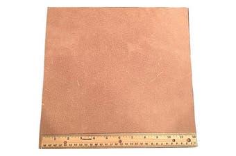 Leather Side Piece Veg Tan Split Heavy Weight 30cm X 30cm 0.09sqm