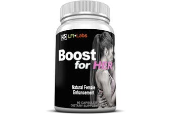 LFI Boost For Her - Improve Bust/Butt Size Through Fat Transfer, Improved Libedo. Your Complete Female Enhancement Solution* -