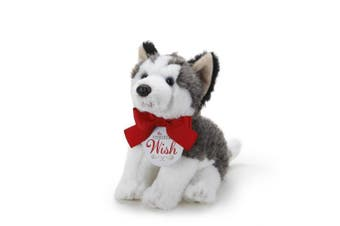 The Christmas Wish Husky Figurine, Small