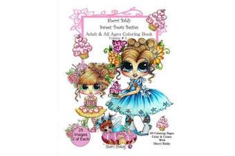 Sherri Baldy My-Besties Sweet Treats Adult Coloring Book