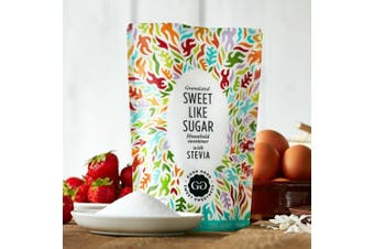 Good Good Sweet Like Sugar Household Sweetener With Stevia (450g) - Perfect For Baking and Sugar Free!