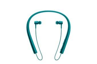 (Blue) - Sony h.ear EX750BT Bluetooth High Resolution In Ear Headphones - Blue